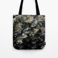 rocky Tote Bags featuring Rocky by C. Wie Design