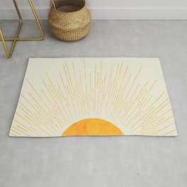 Boho Sunrise  Rug