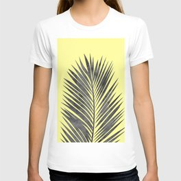 Tropical and yellow T-shirt