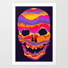 Melting Inside Art Print