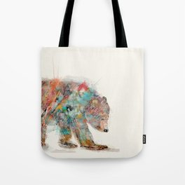 into the wild (the grizzly bear Tote Bag