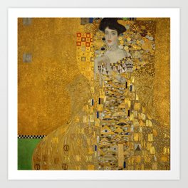 Gustav Klimt - Bloch Bauer Art Print