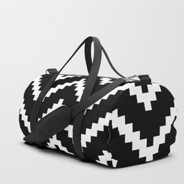 Tribal Chevron W&B Duffle Bag
