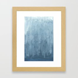 Abstract  / Latvian Winter Framed Art Print