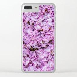 Spring Confetti Clear iPhone Case