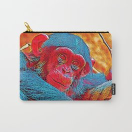 Popular Animals - Baby Chimp Carry-All Pouch