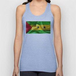 Sao Tome and Principe Flag Unisex Tank Top