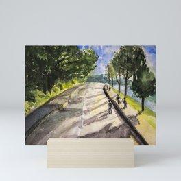 Sunshine in Da Lat Street Mini Art Print