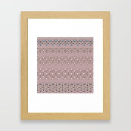 Gold lace 2 Framed Art Print