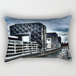 Harbor_Cologne_Germany Rectangular Pillow