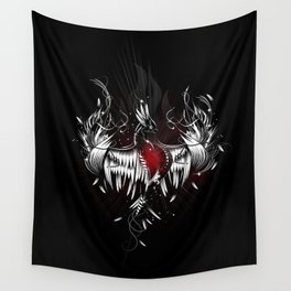 Phoenix from the ashes Wall Tapestry