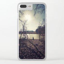 Steigerwald Impressions I - Am Tränksee Clear iPhone Case