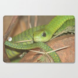 Green viper Cutting Board