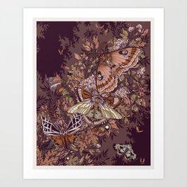 Transarctiinae Art Print