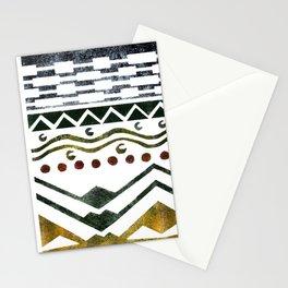 Ethnic Stencil Stationery Cards