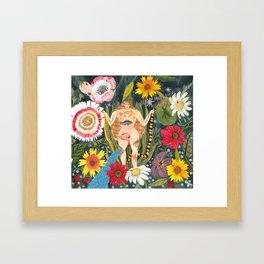MY UTERUS Framed Art Print