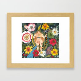 MY UTERUS Framed Art Print