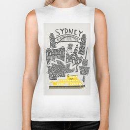 Sydney Cityscape Biker Tank