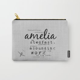 Amelia {striving} Carry-All Pouch