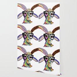 Hipster Goat Wallpaper