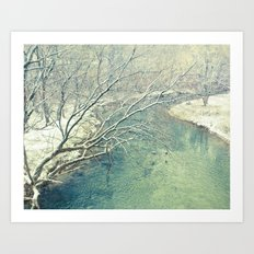 Winter Sun  Art Print