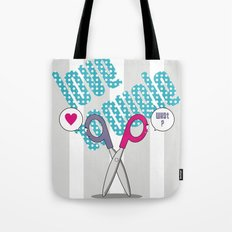 LOVE TROUBLE Tote Bag