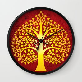Bodhi Tree0101 Wall Clock