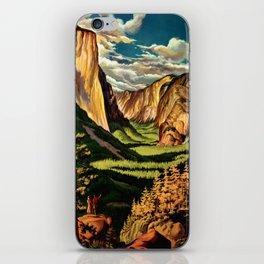 Yosemite National Park - Vintage Travel iPhone Skin