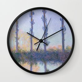 The Four Trees Wall Clock