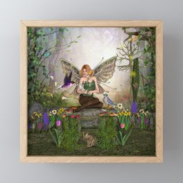 Awakening Spring Framed Mini Art Print