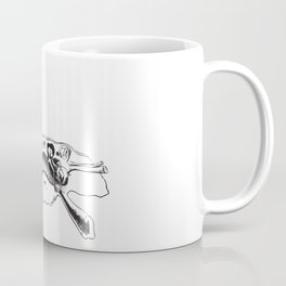 Human Ear Canal Anatomy Detailed Illustration Coffee Mug