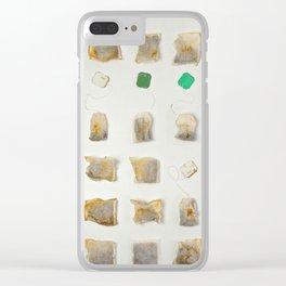 I Heart Tea Clear iPhone Case