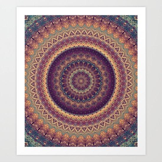 Mandala 541 Art Print