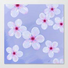 Cherry Blossoms - Painting Canvas Print