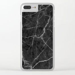 Marble Texture Surface 19 Clear iPhone Case