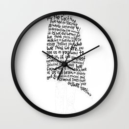 The Breakfast Club - Sincerely Yours - White Wall Clock
