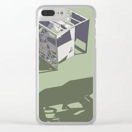 Broken Next 01 Clear iPhone Case