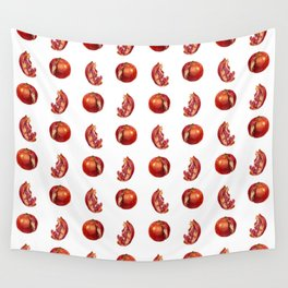 Playful Pomegranates Wall Tapestry