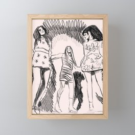 Blame It on the Boogie Framed Mini Art Print