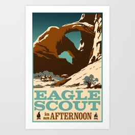 Eagle Scout in an Afternoon Art Print