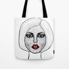 Face Analysis Tote Bag