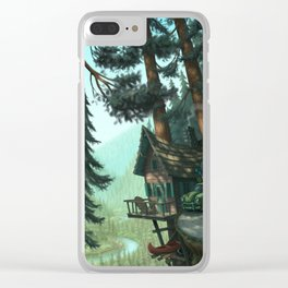 River Cabin Clear iPhone Case
