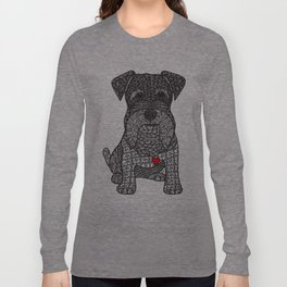 Spunky - Schnauzer Long Sleeve T-shirt