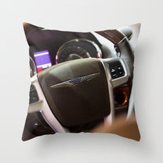 Chrysler Town & Country Limited Steering Wheel and Panel Throw Pillow