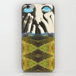 Nauges dans les yeux iPhone Skin