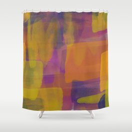 Abstract Painting #1 Shower Curtain