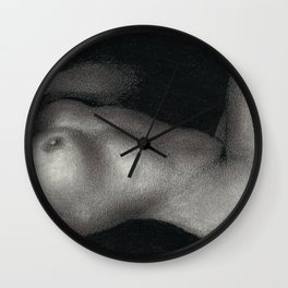 Little Studies- body Wall Clock