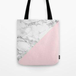 Marble + Pastel Pink Umhängetasche