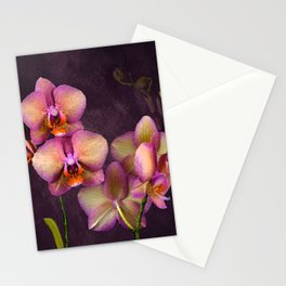 Sunrise Tropical Orchids Stationery Cards