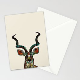 antelope ivory Stationery Cards